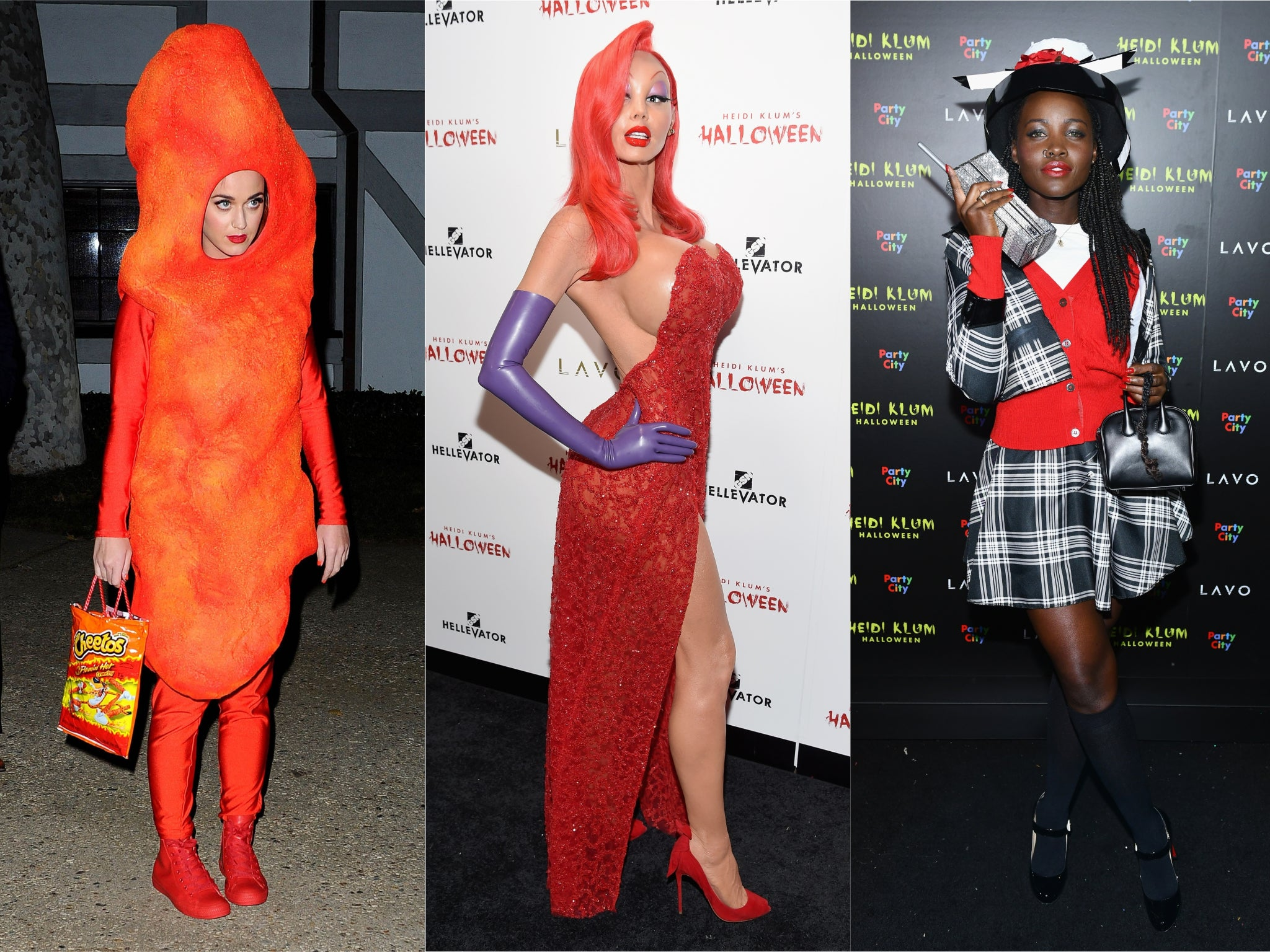 The best celebrity Halloween costumes of all time, from Heidi Klum as Jessica Rabbit to Katy Perry as Hillary Clinton
