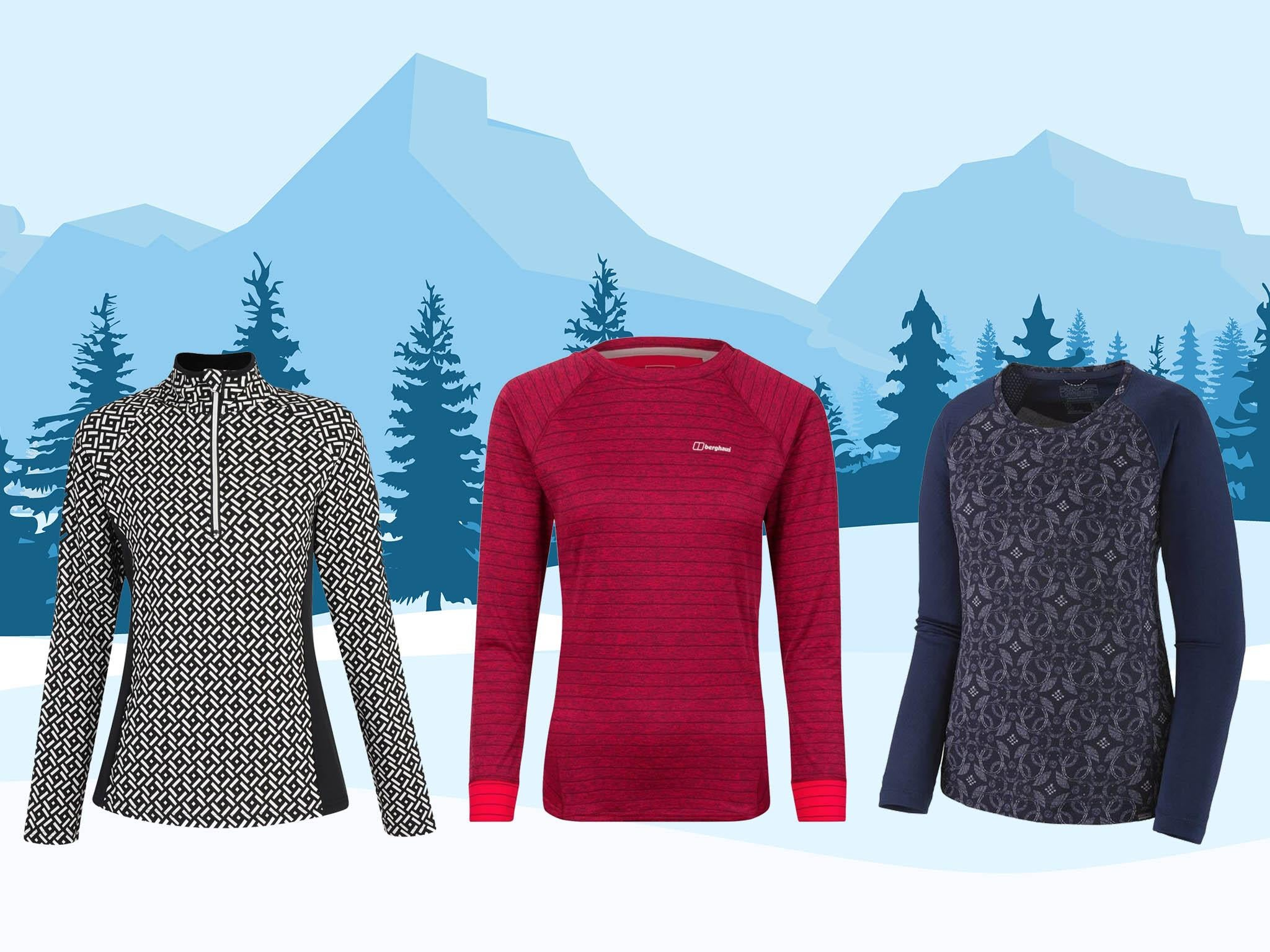 11 best women's base layers 2019/20 to keep you warm on the mountain