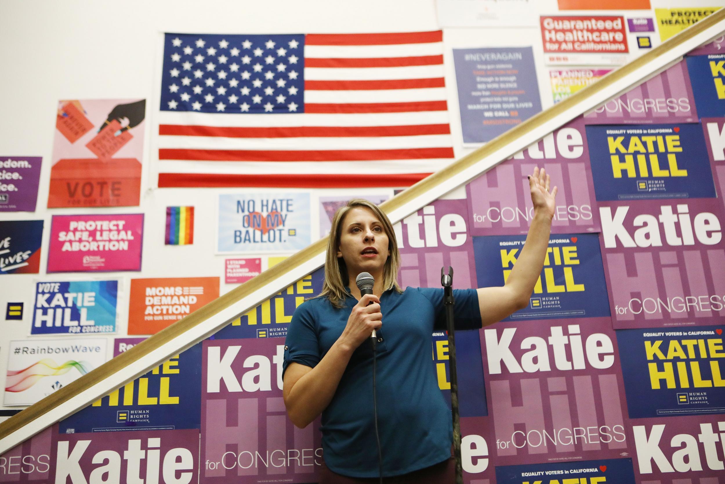 Katie Hill photos: Congresswoman blames nude leak on ...