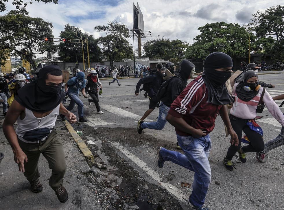 Chaos map shows that 92 deaths in Venezuela in 2017 were linked to resource shortages
