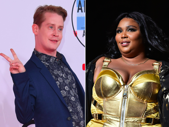 Home Alone star Macaulay Culkin joins Lizzo on stage for dance-off