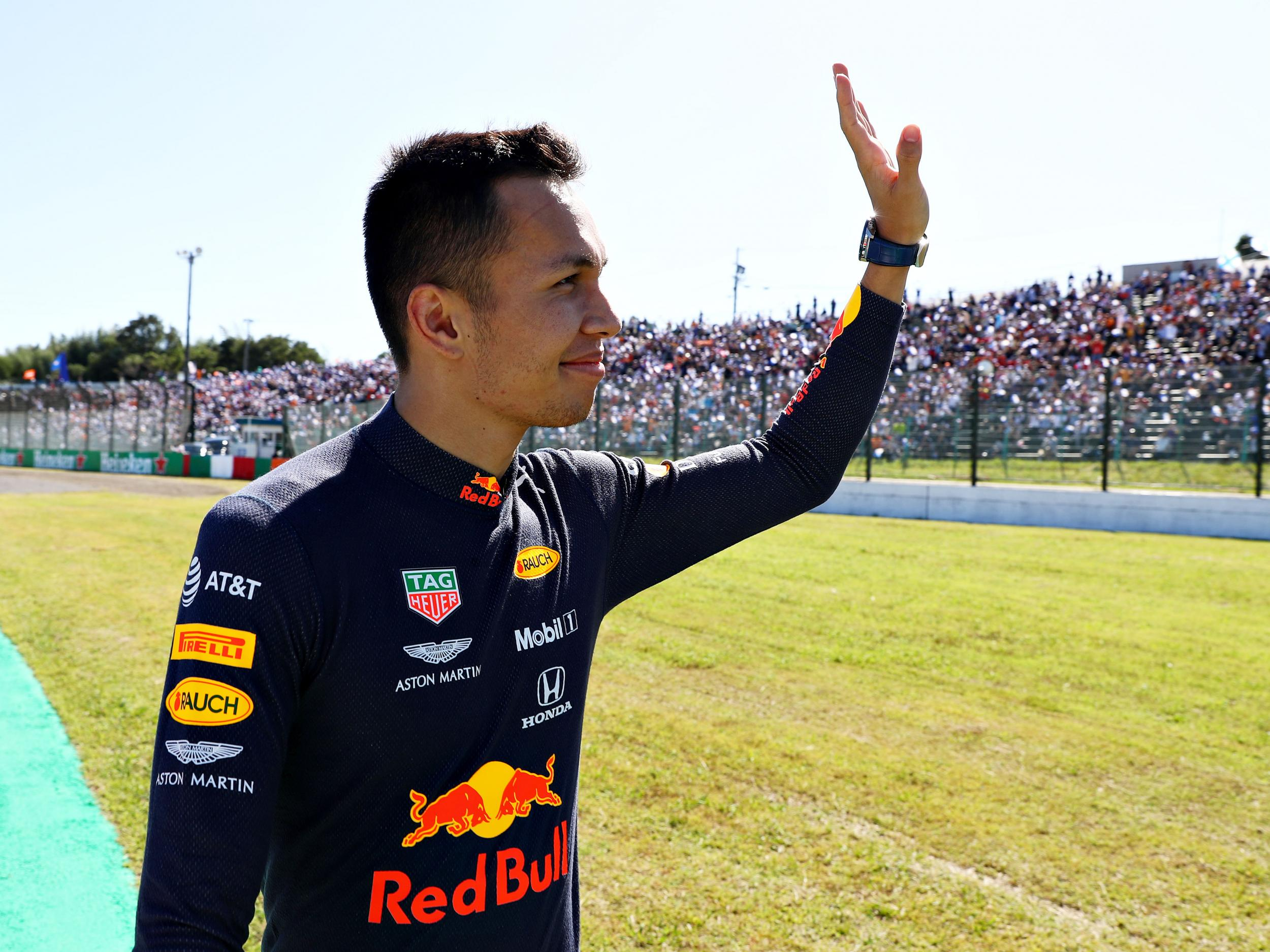 Red Bull's Alex Albon aiming to move out of parents' house with new deal