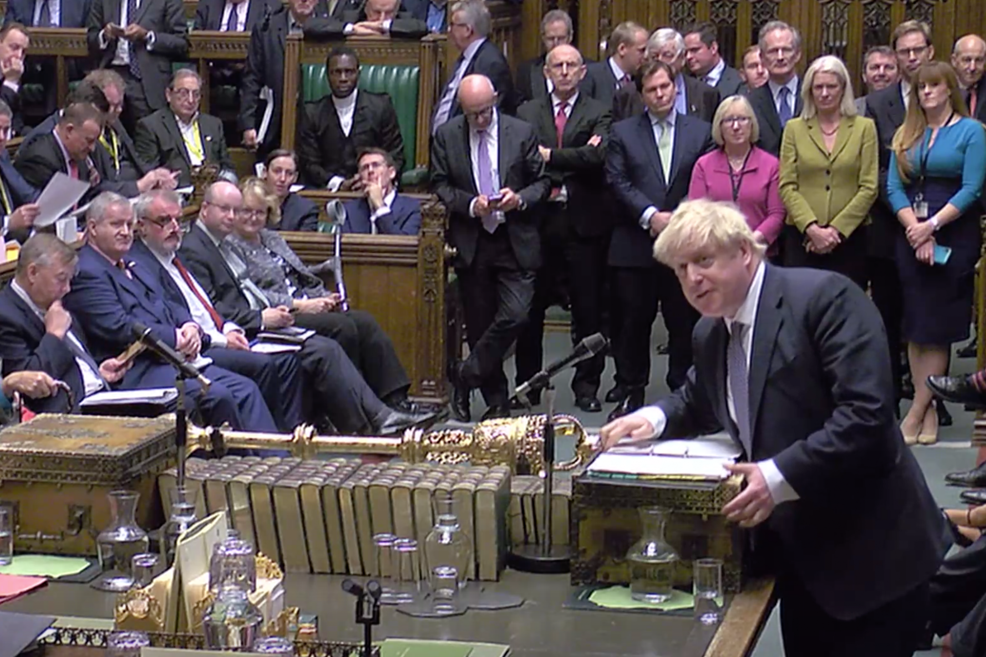 Boris Johnson turned up at PMQs, but how do you interrogate someone who's not even pretending to tell the truth?
