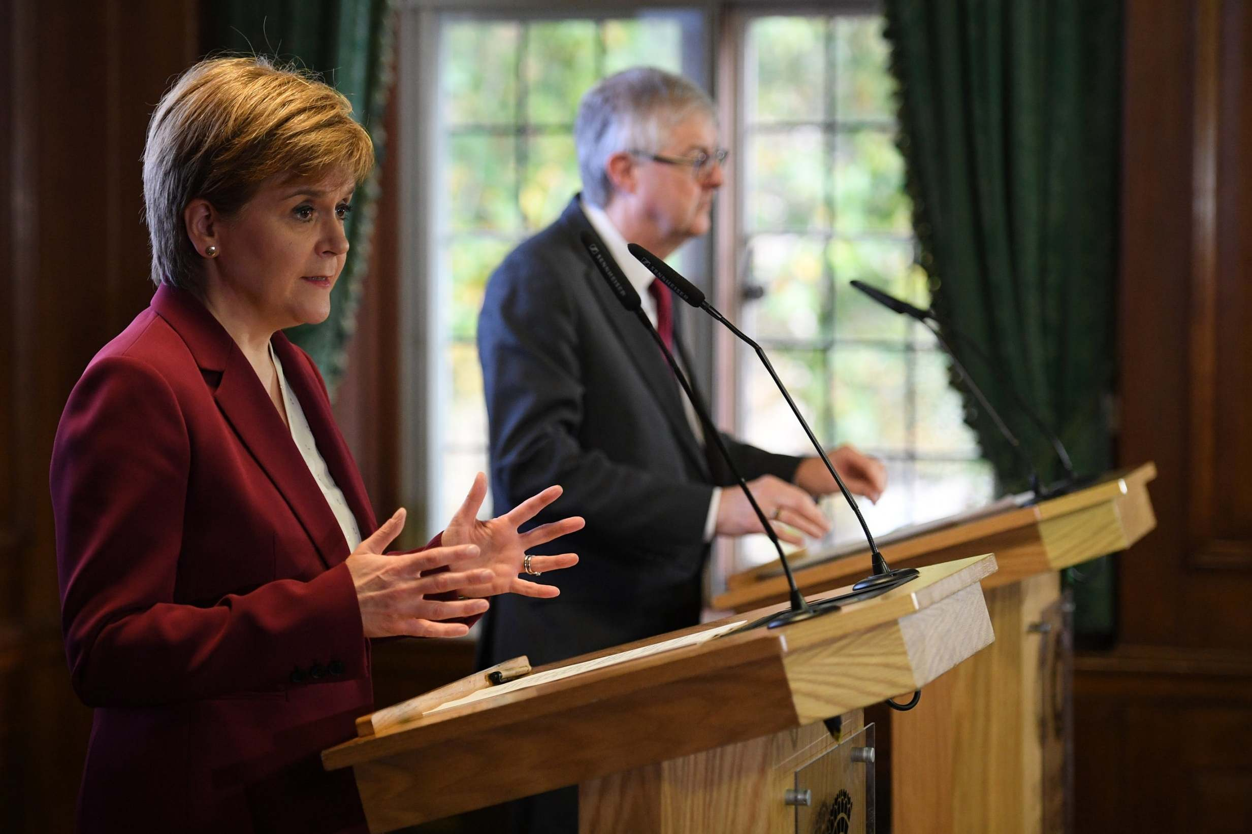 Nicola Sturgeon hints SNP could vote with Boris Johnson for a general election 'before Christmas'