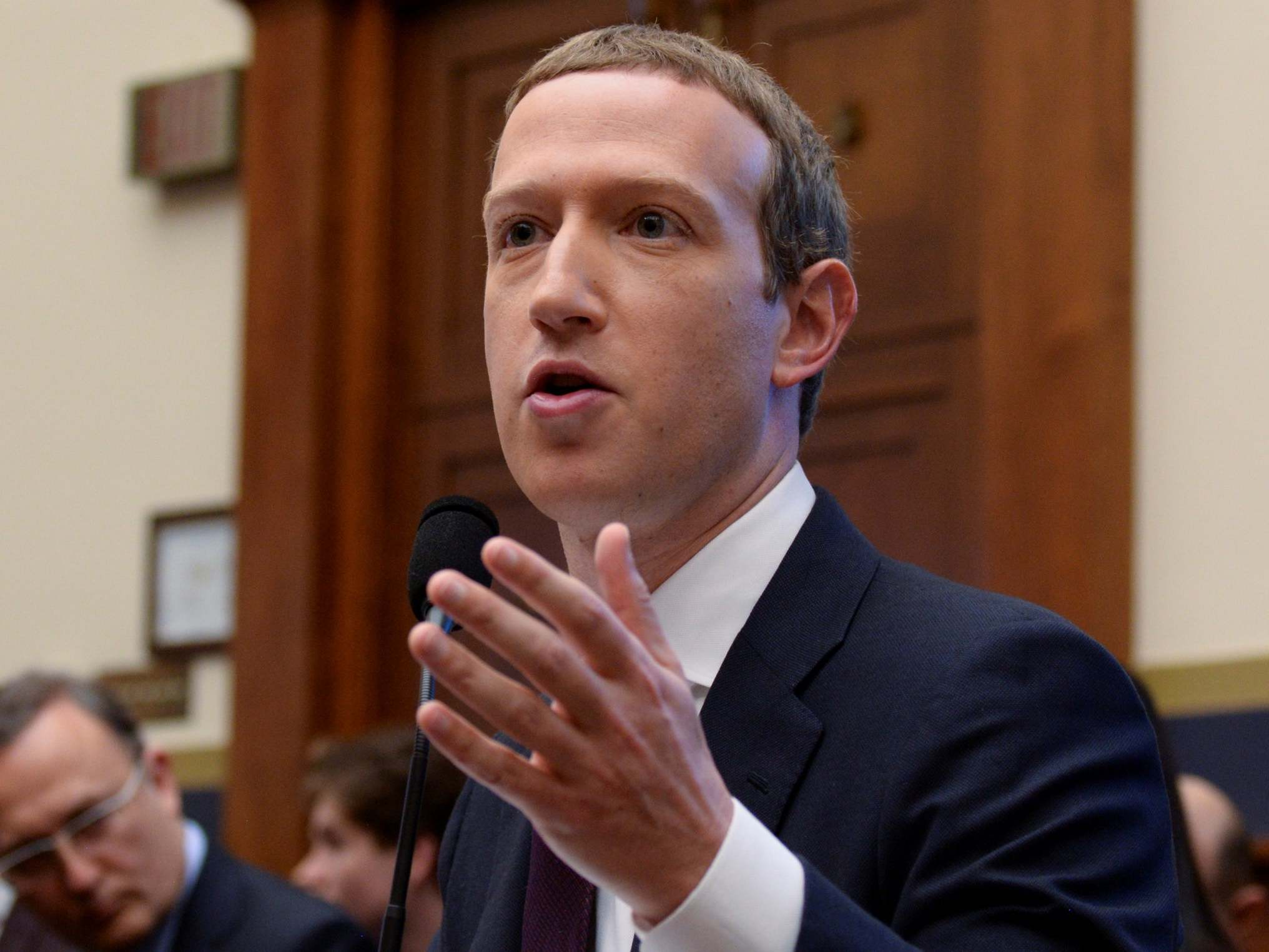 Zuckerberg stumbles over AOC's questions about white supremacy during Congress hearing