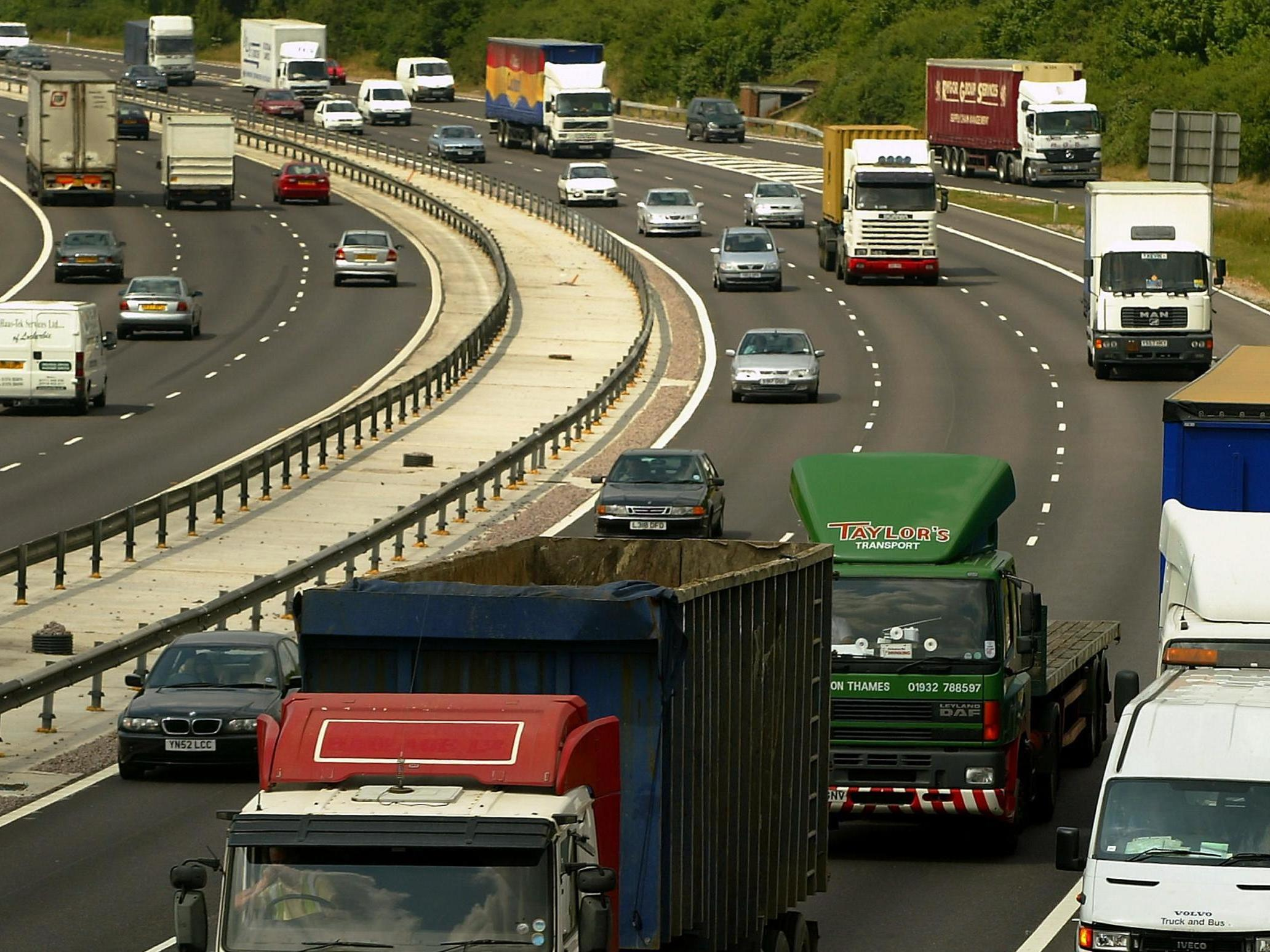 Nine people found in back of lorry on M20 in Kent