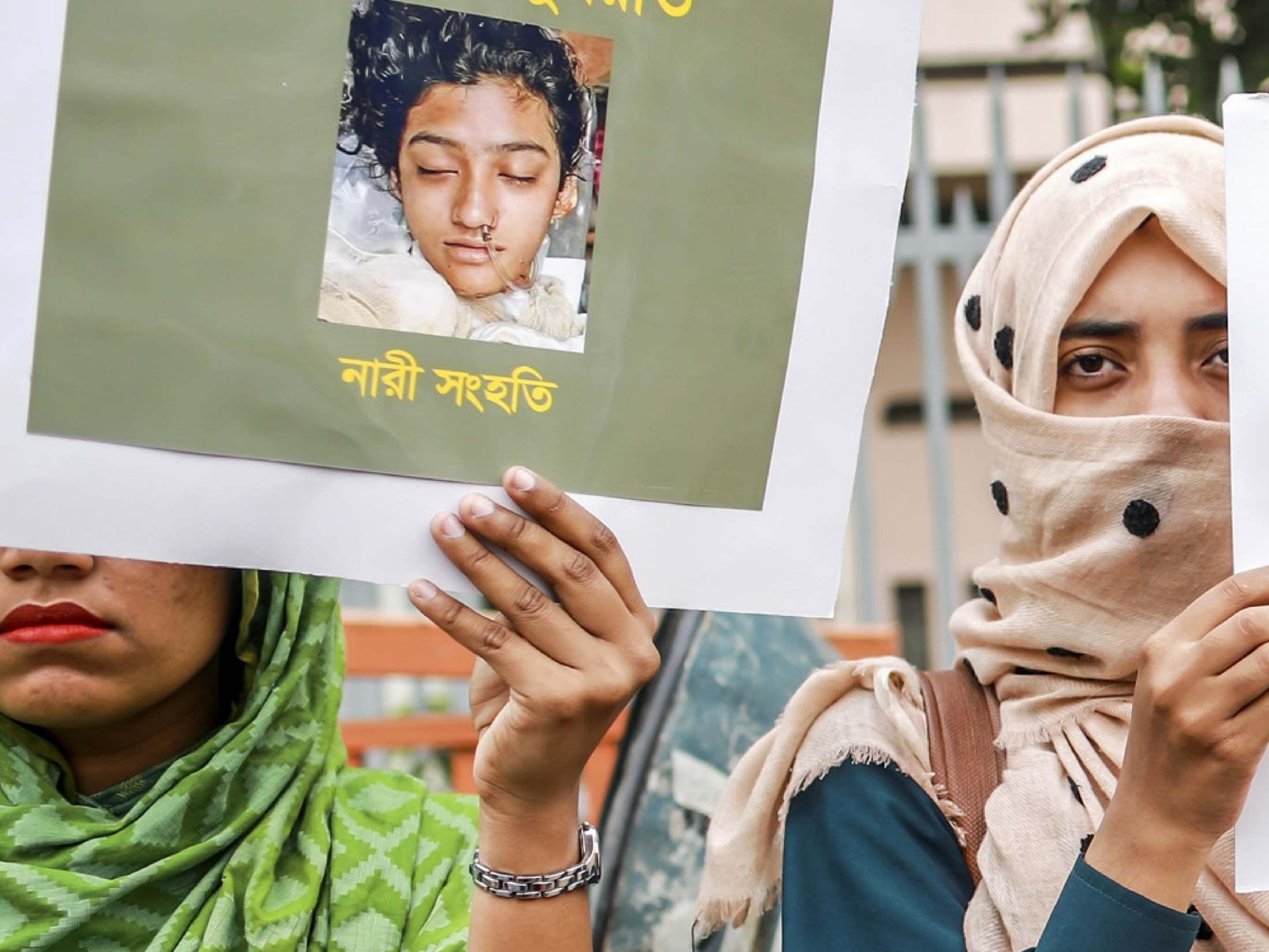 Nusrat Jahan Rafi 16 Sentenced To Death For Burning Bangladeshi
