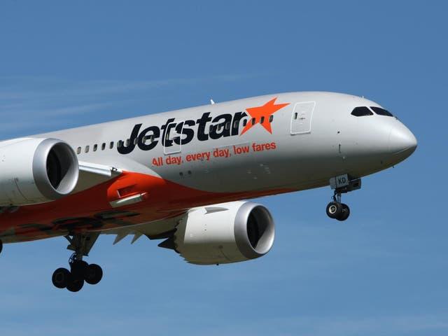 Jetstar stipulates passengers must wear shoes.