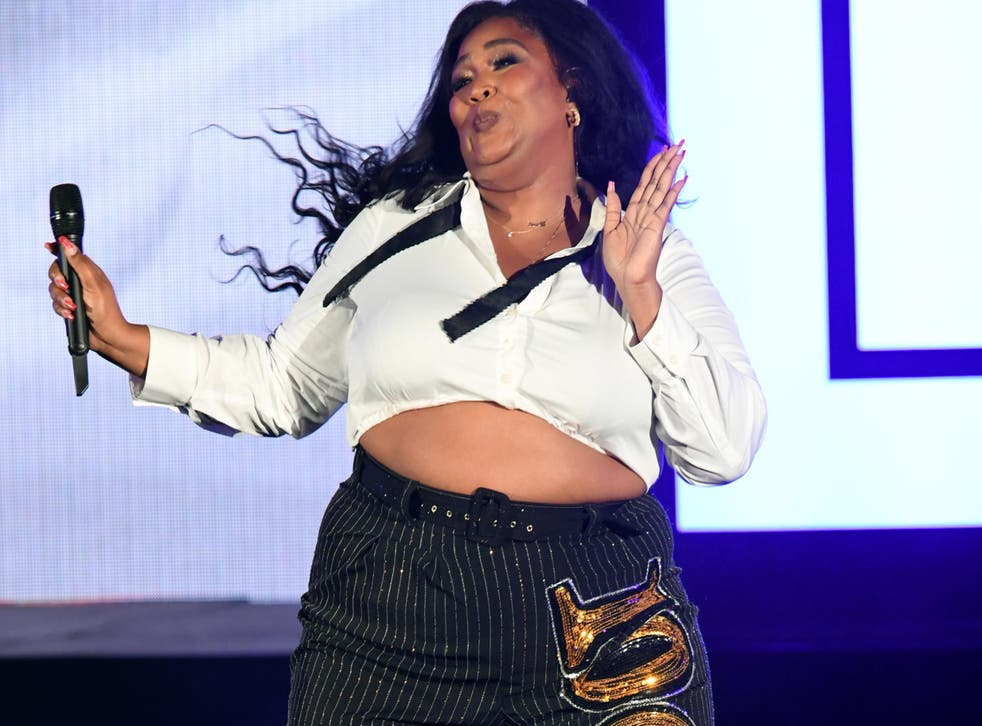 Lizzo performs onstage at The Hollywood Bowl on 19 October, 2019 in Los Angeles, California.