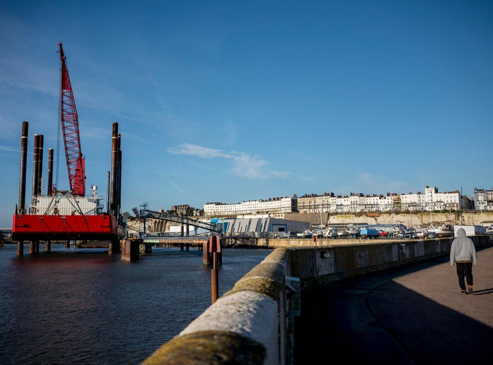 Some ports, such as Ramsgate, already spend tens of millions of pounds on dredging every year