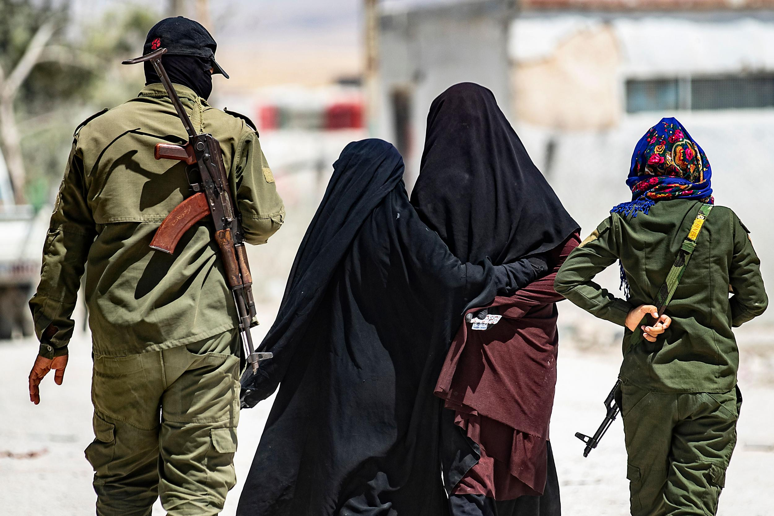 Tunnels, knives and riots: This Syrian camp holding thousands of Isis wives is at breaking point