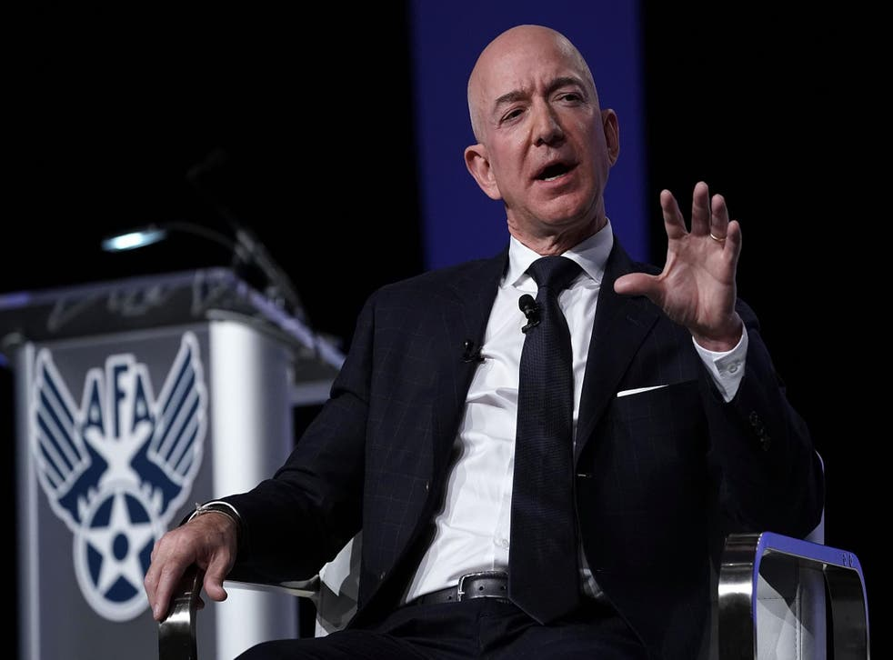 Jeff Bezos may lose title as richest person in the world (Getty)