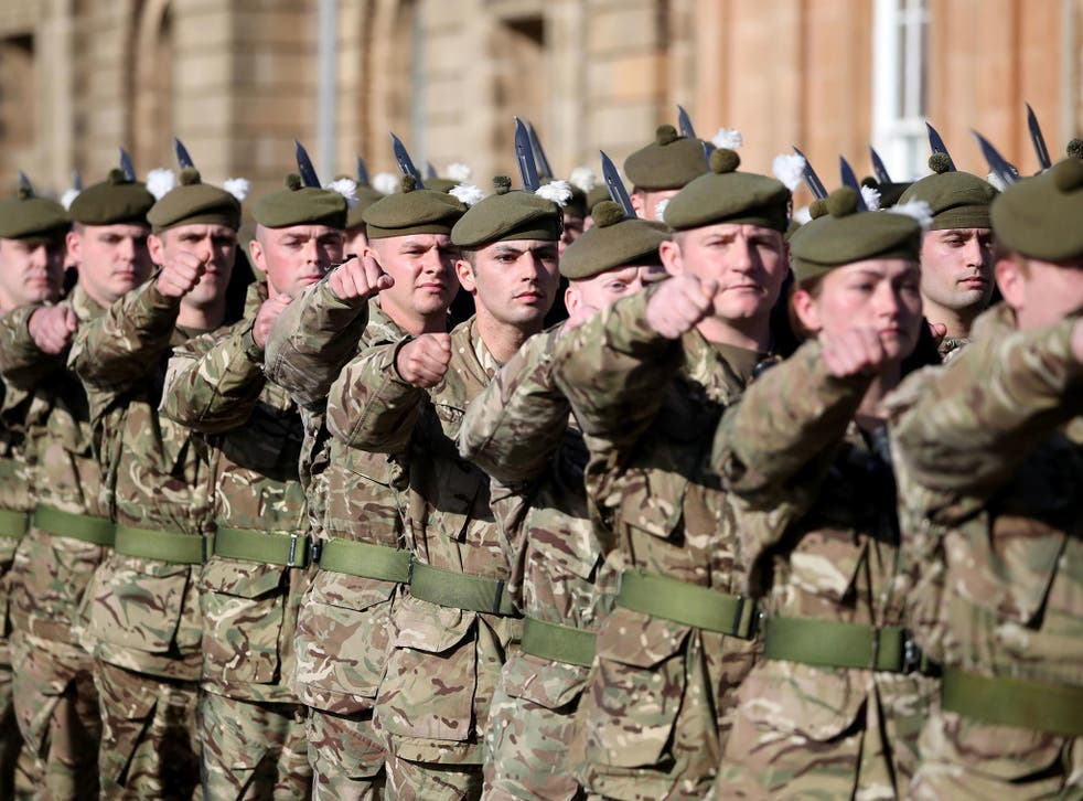 British soldiers could be fitted with brain scanners to monitor their state of mind