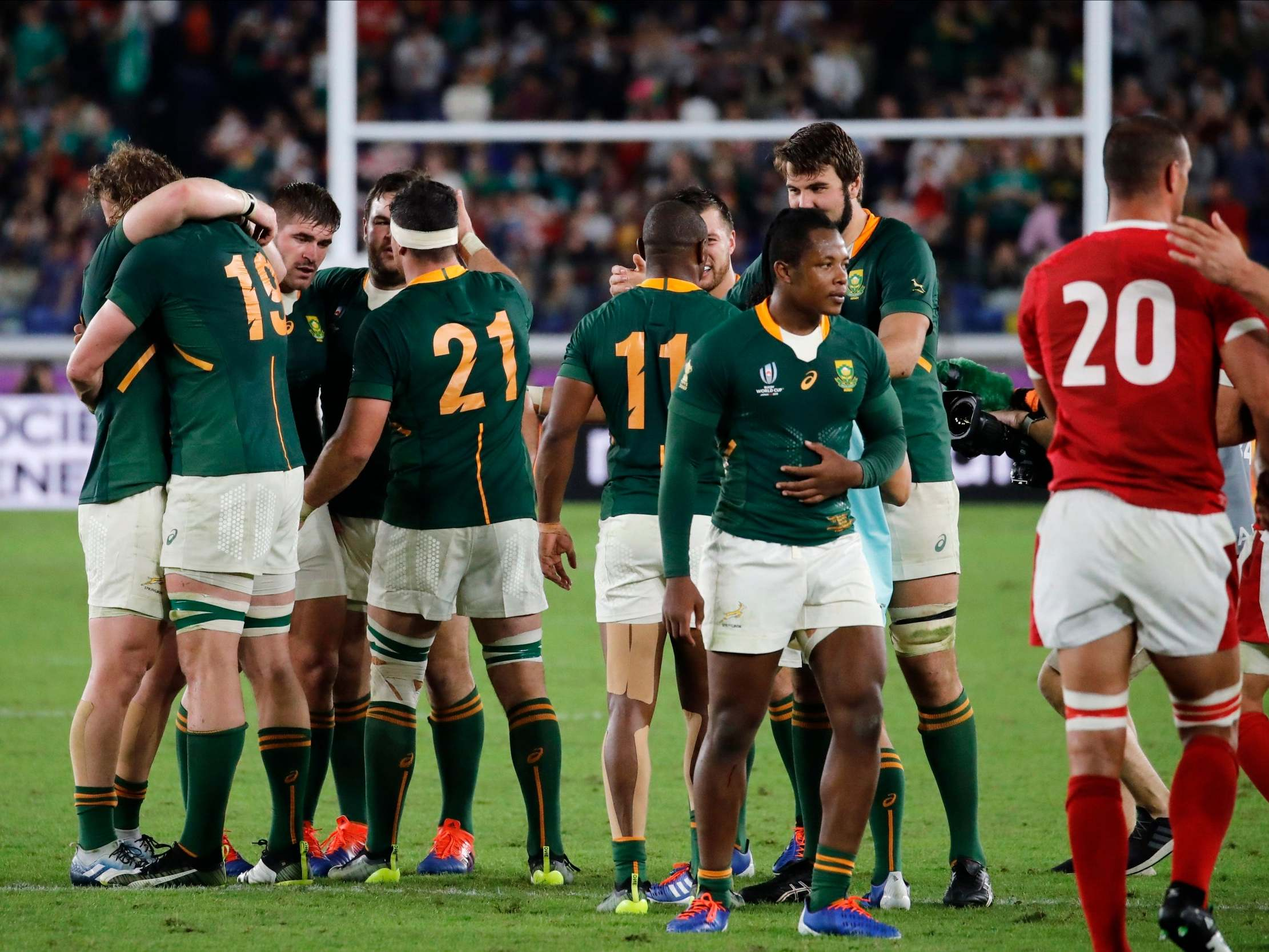Wales vs South Africa Rugby World Cup LIVE: Result and reaction from semi-final fixture