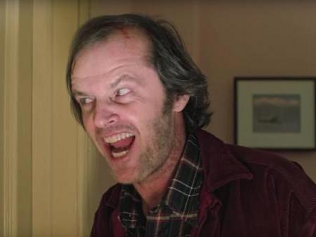 The Shining: Watch video showing Jack Nicholson preparing to film terrifying axe scene