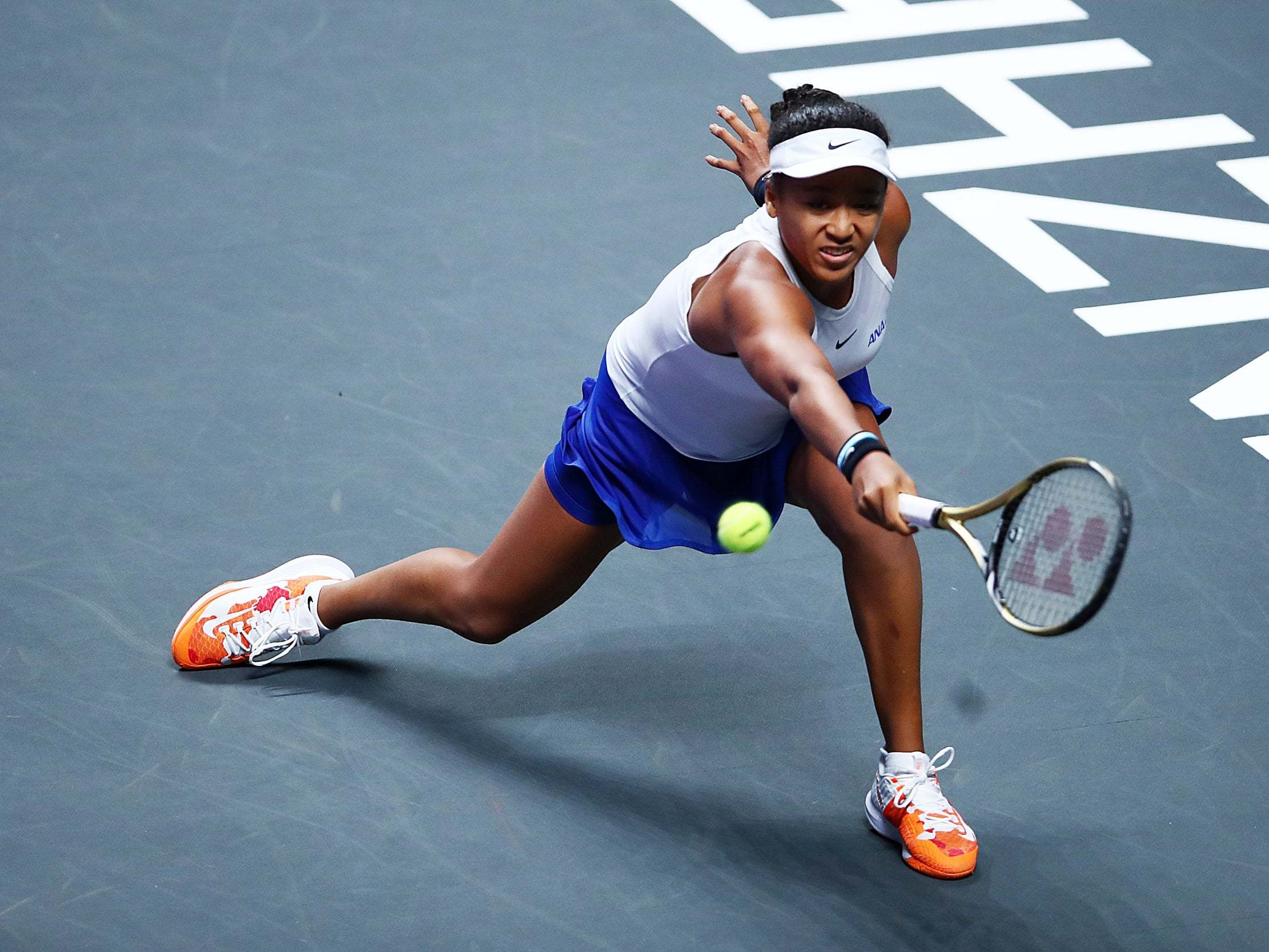 WTA Finals: Naomi Osaka withdraws from competition after suffering shoulder injury