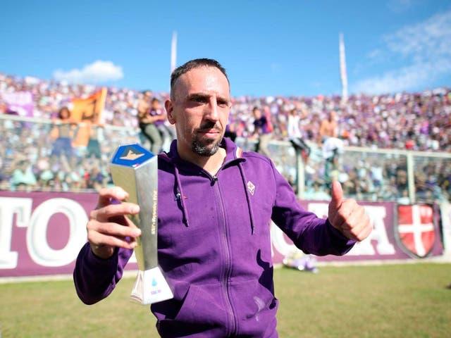 Franck Ribery is thriving at Fiorentina