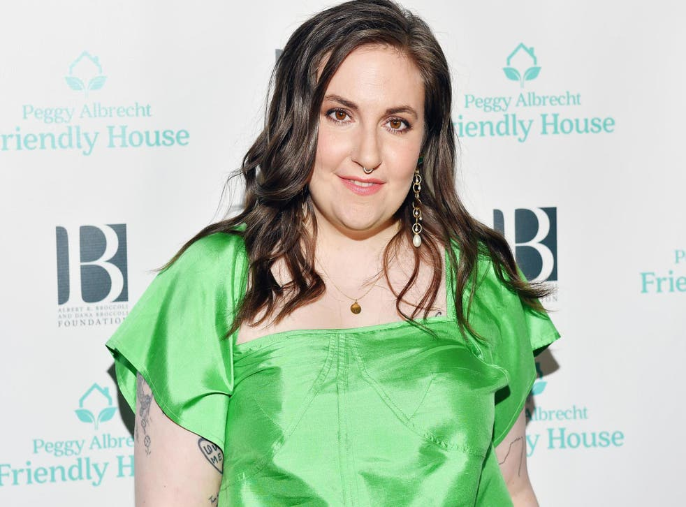 Lena Dunham attends the Friendly House 30th annual awards luncheon on 26 October, 2019 in Los Angeles, California.