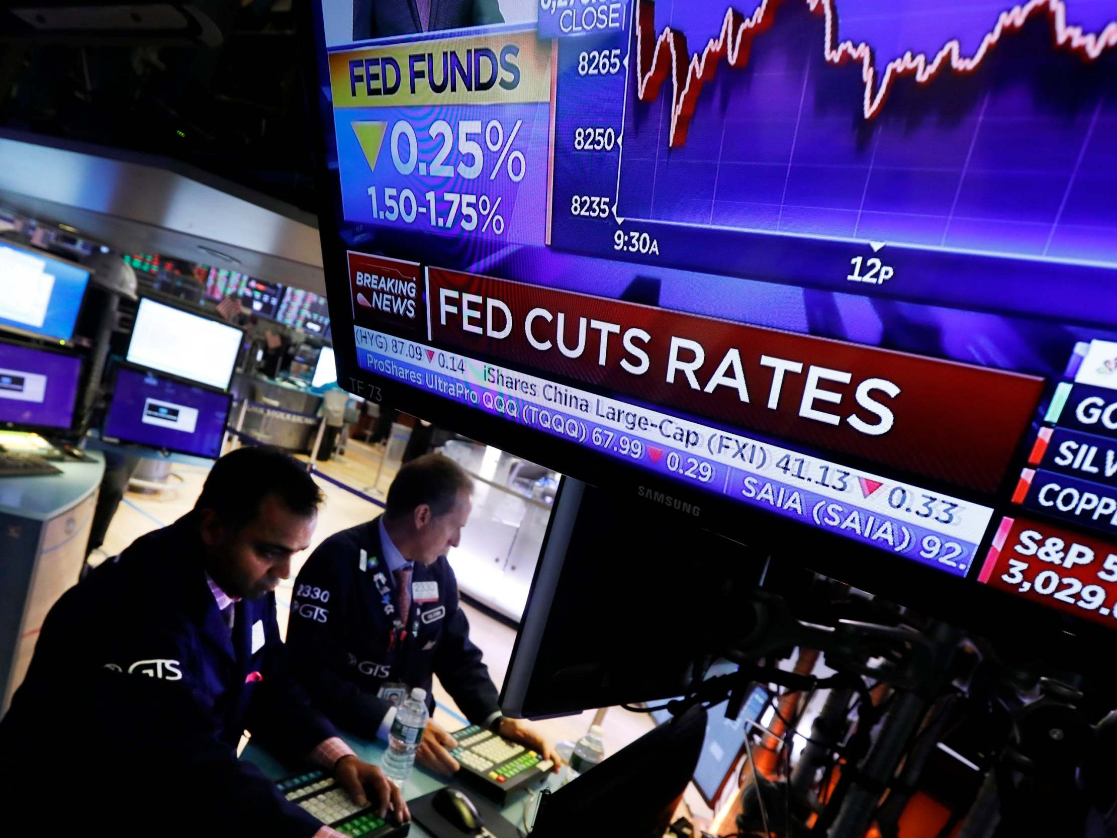 Fed lowers US interest rate for third time this year