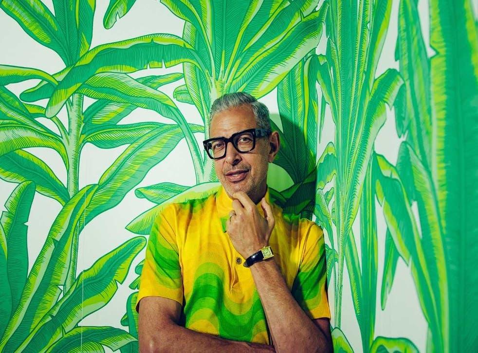 Actor Jeff Goldblum is releasing his second album