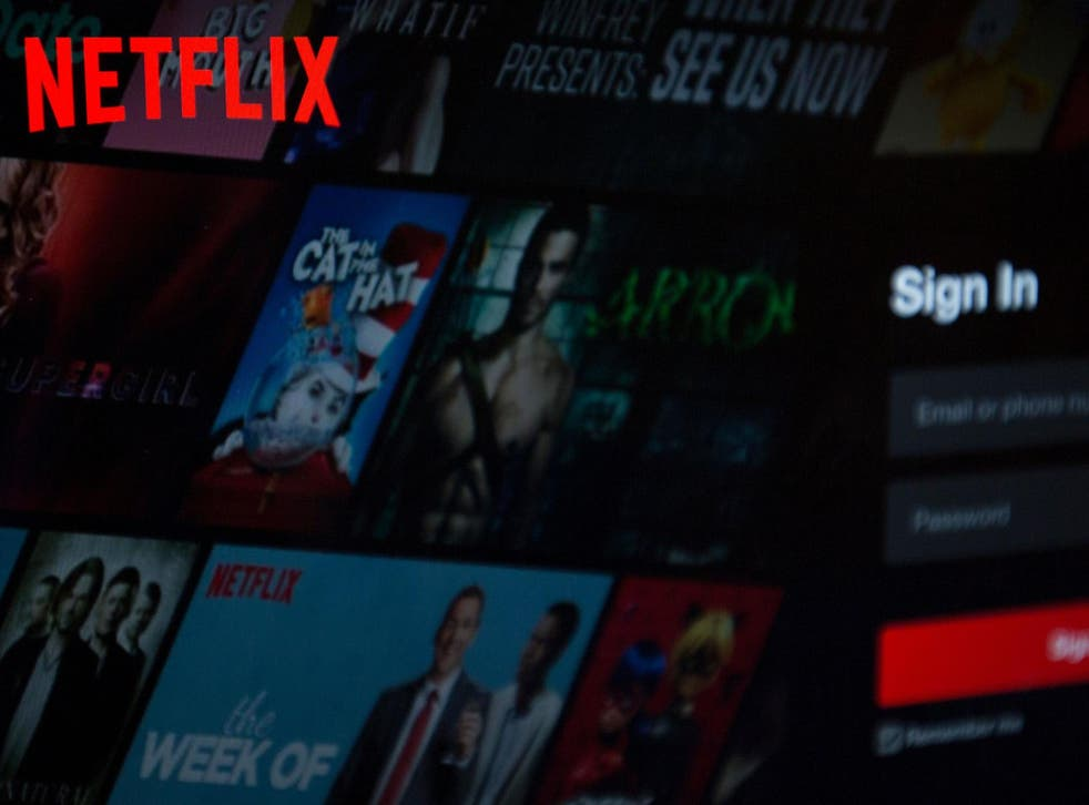 The Netflix logo is seen on a computer in Washington, DC, on 10 July, 2019.