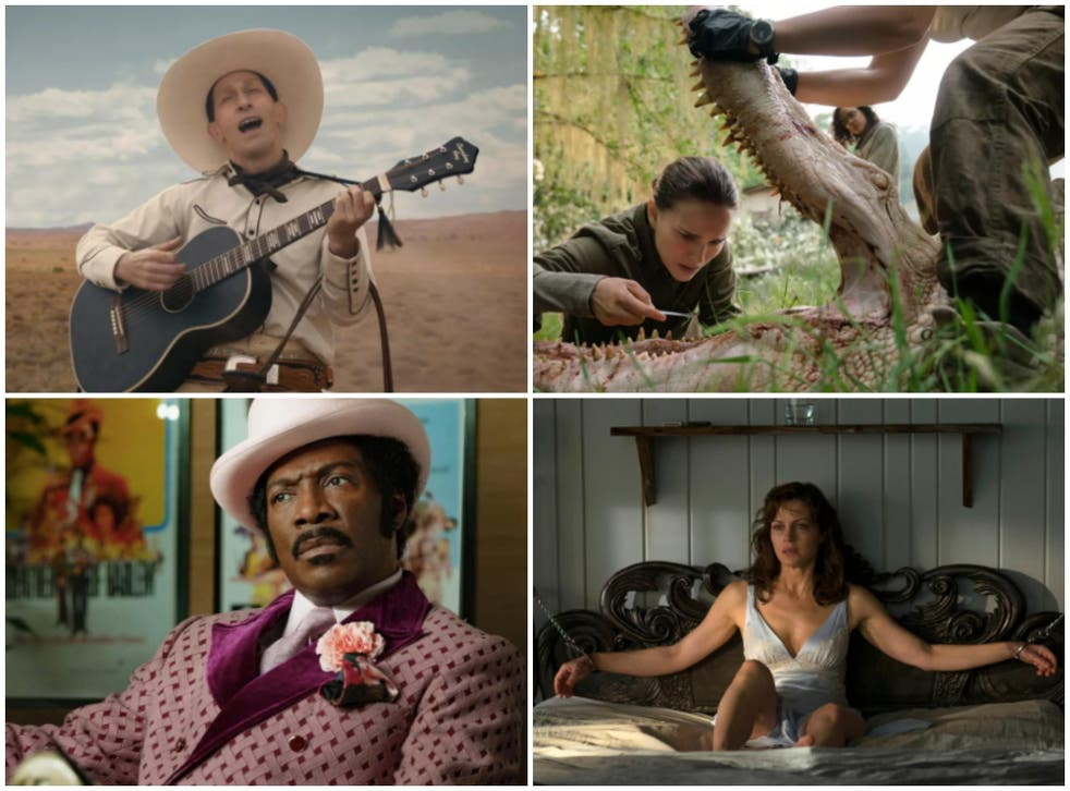 'The Ballad of Buster Scruggs', 'Annihilation', 'Dolemite Is My Name' and 'Gerald's Game' are among the best original films to watch on Netflix