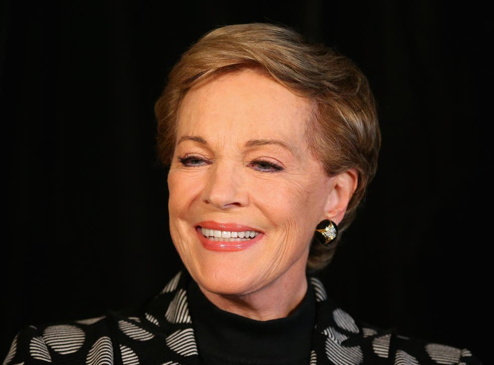 Dame Julie recently directed a production of My Fair Lady.