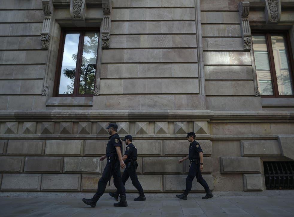 The men were sentenced at the Barcelona High Court on Thursday.