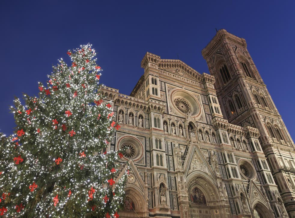 One of today's readers is flying to Florence for Christmas