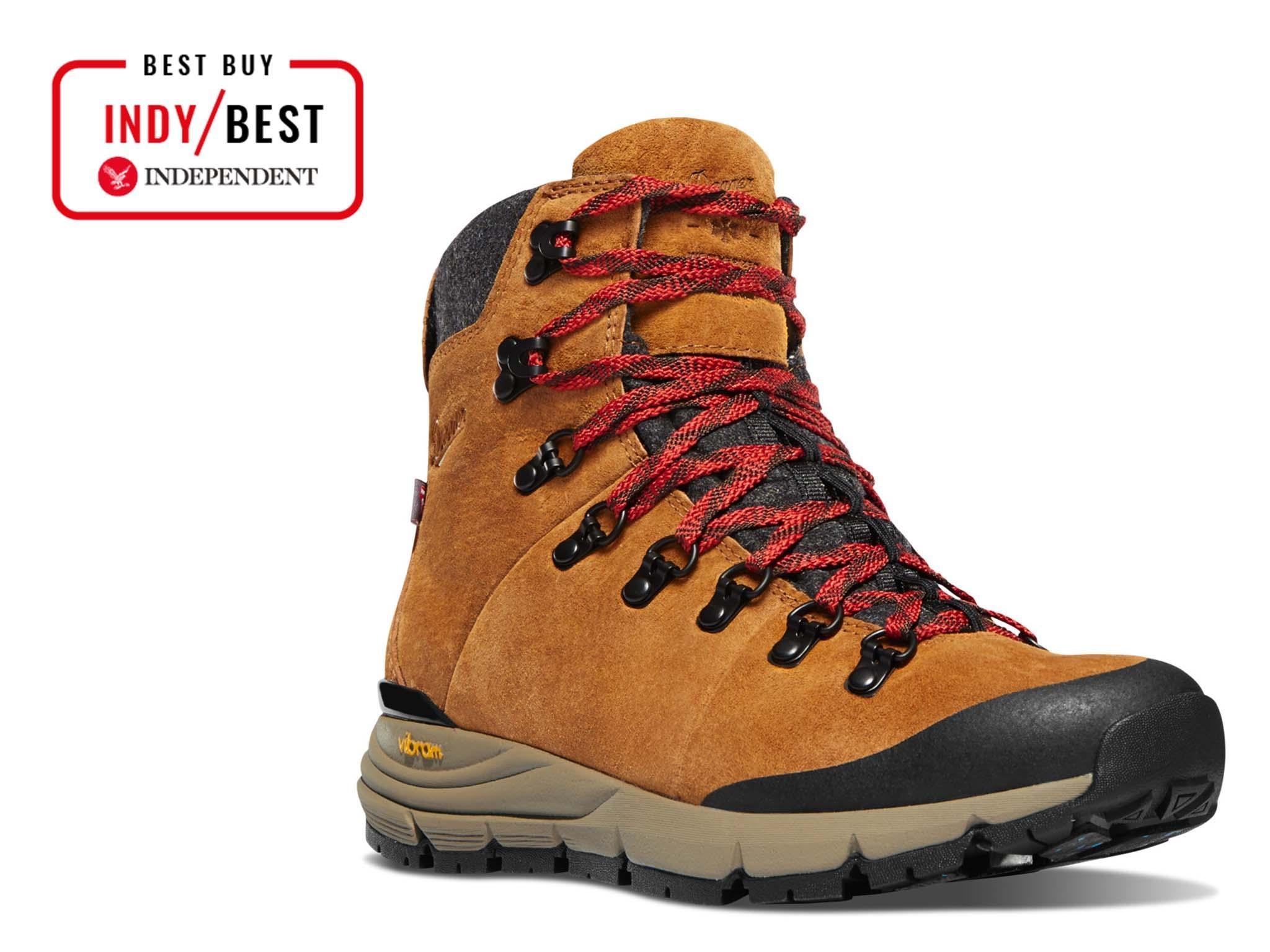 "11.5 Swissbrand Mens 6/"" Outdoor Tan Leather Waterproof Boot w//Traction Sole"