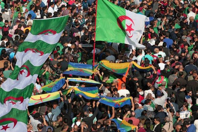 Related video: Algerians celebrate President Abdelaziz Bouteflika's resignation