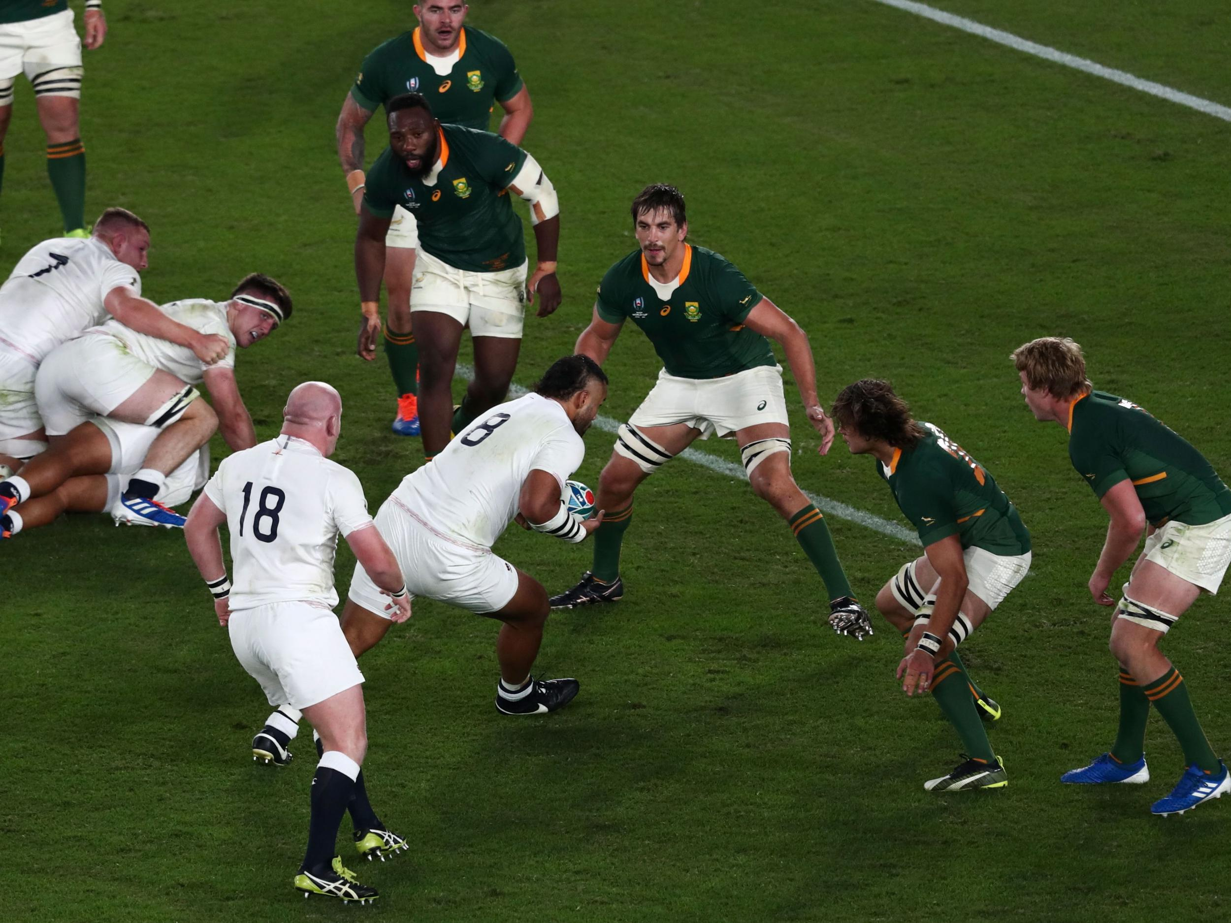 England vs South Africa: The single passage of play that decided the Rugby World Cup final