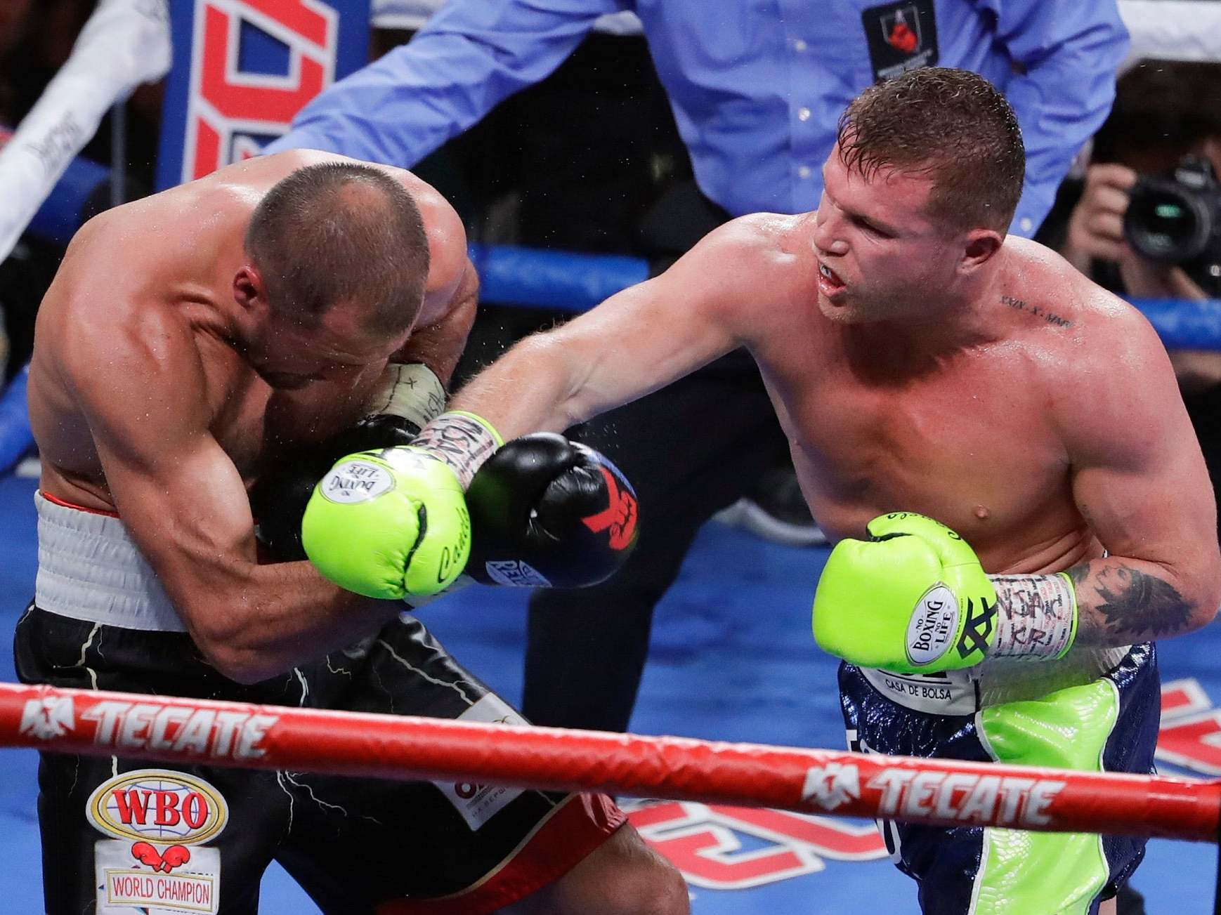 Pound-for-pound rankings: Canelo Alvarez rises after Kovalev win to become four-weight world champion