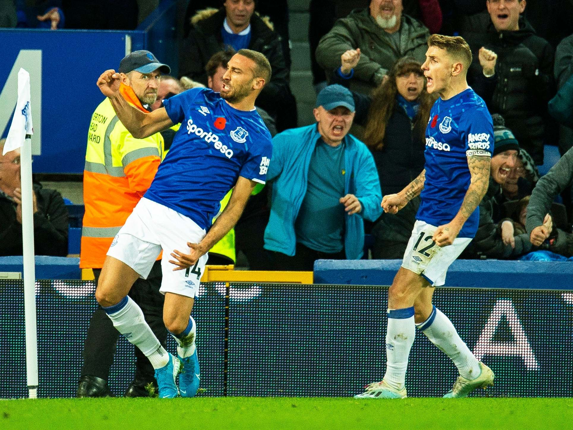 Everton vs Tottenham result: Cenk Tosun scores late equaliser after match  marred by Andre Gomes injury | The Independent