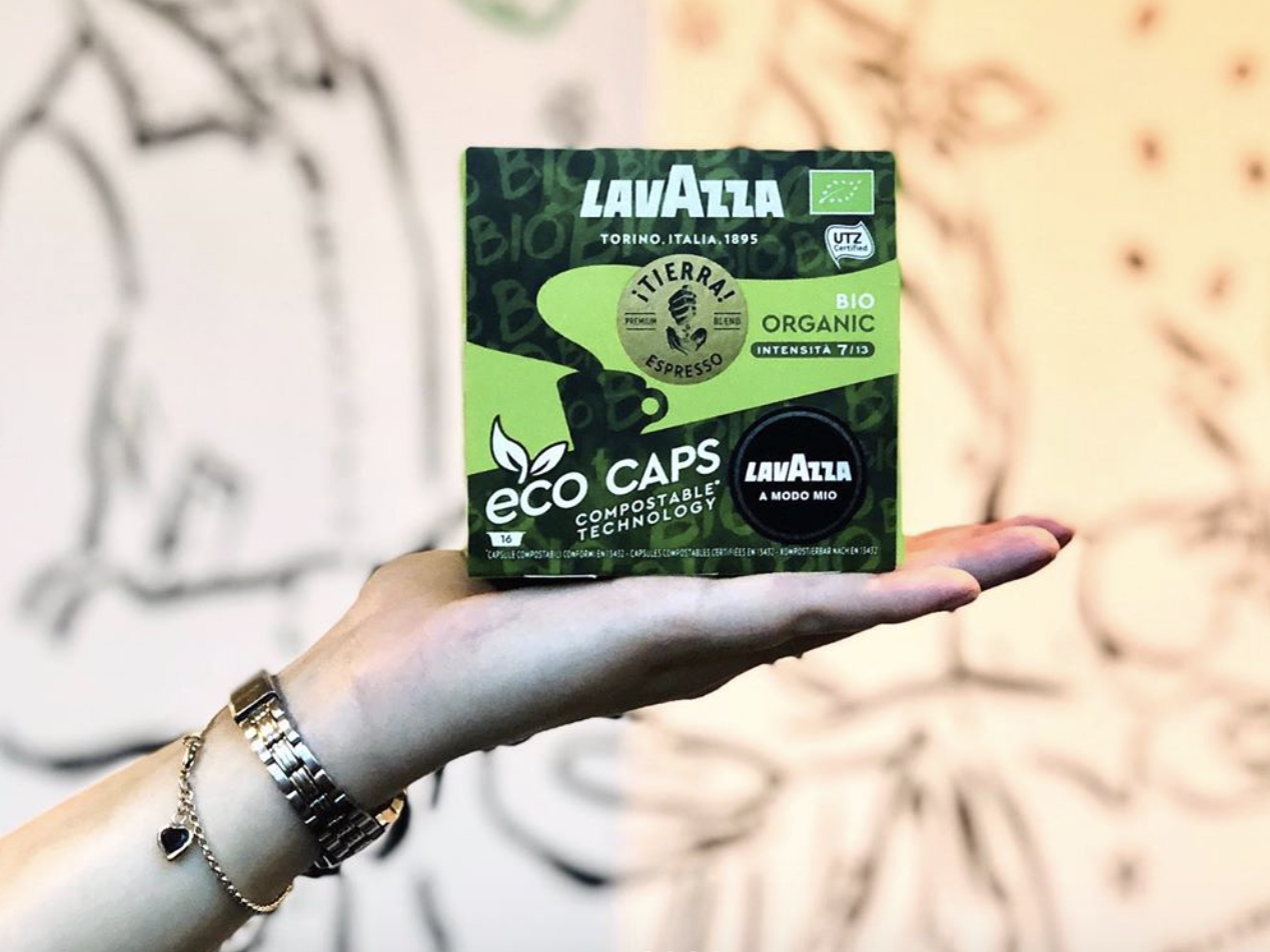 Lavazza launches compostable coffee pods that 'break down' in six months