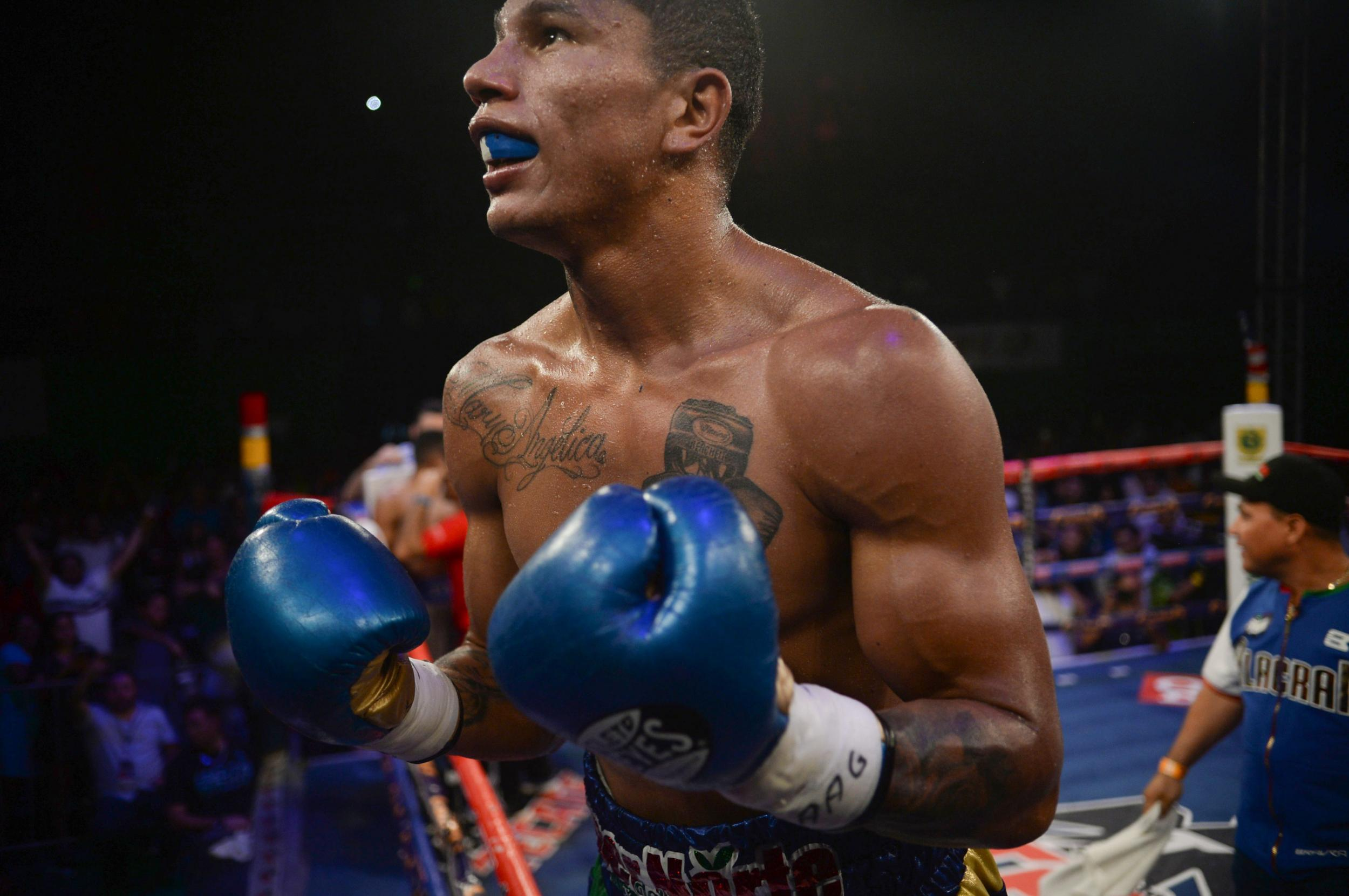 On the rise: Miguel Berchelt (37-1)