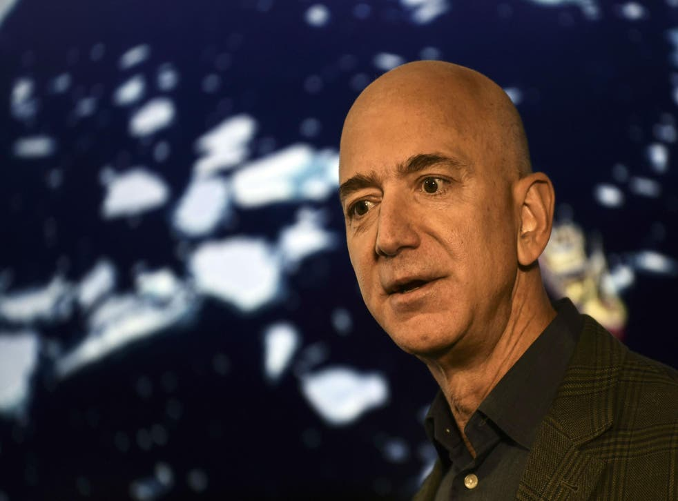 Jeff Bezos is worth an estimated $110bn