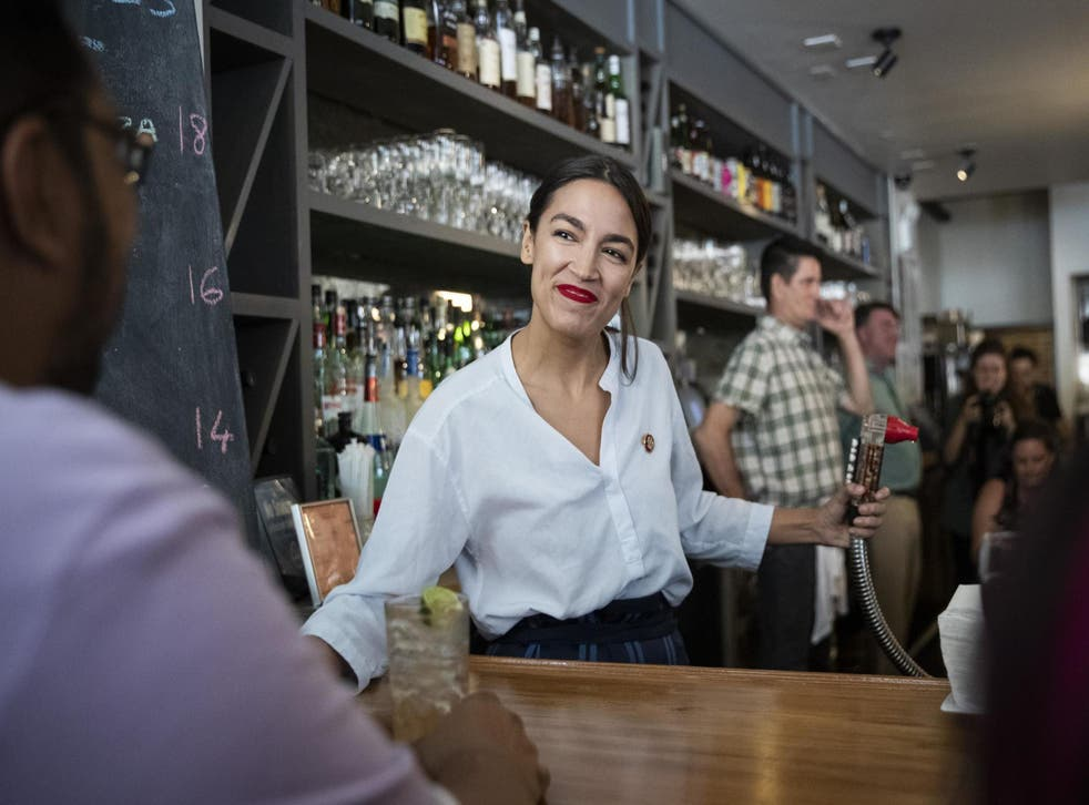 AOC reminds workers to check they were paid extra because of daylight saving (Getty)