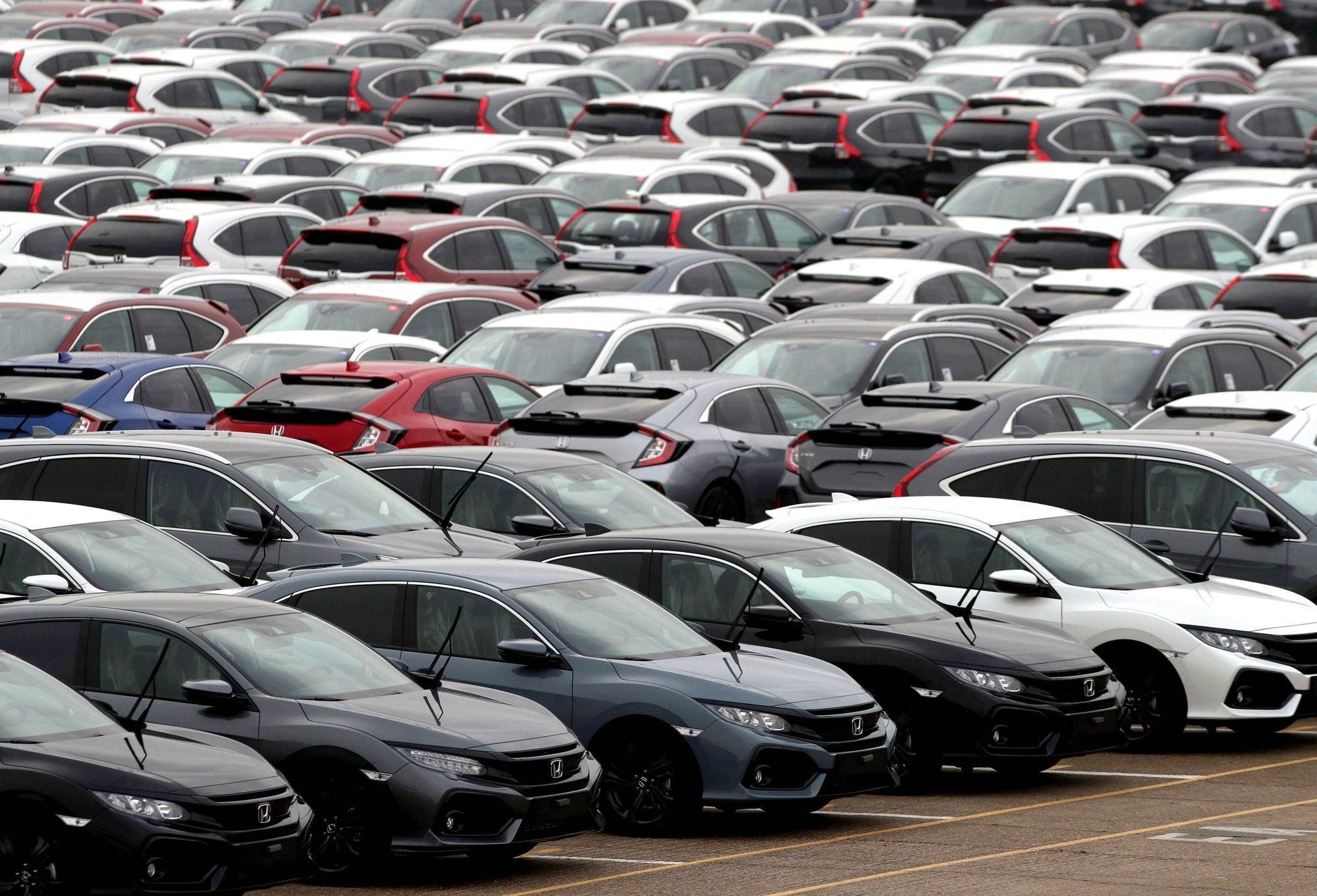 New car registrations fall by 35 per cent as coronavirus hits demand