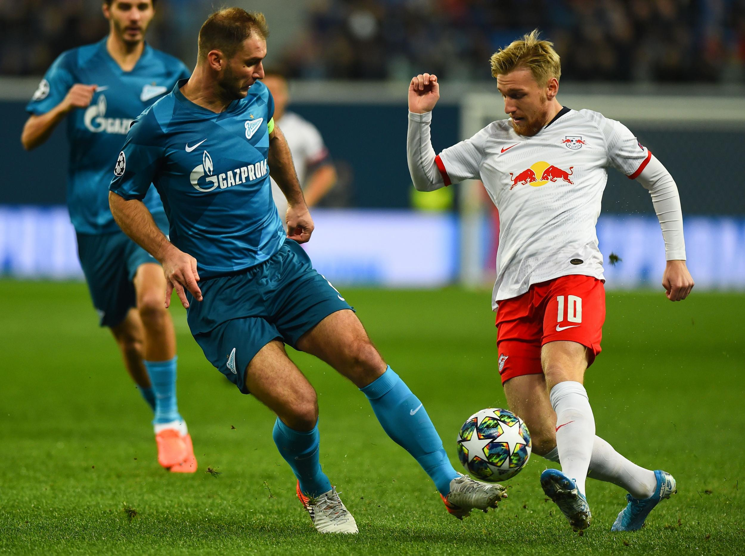 Zenit vs RB Leipzig LIVE: Result and latest reaction from Champions League clash in Russia