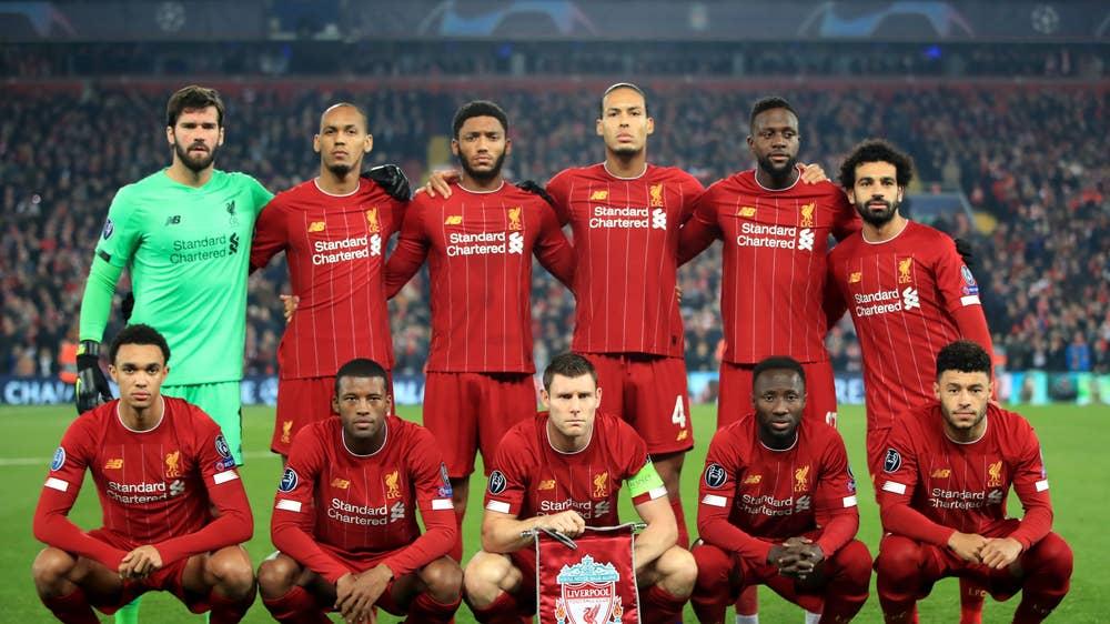Liverpool half-time player ratings