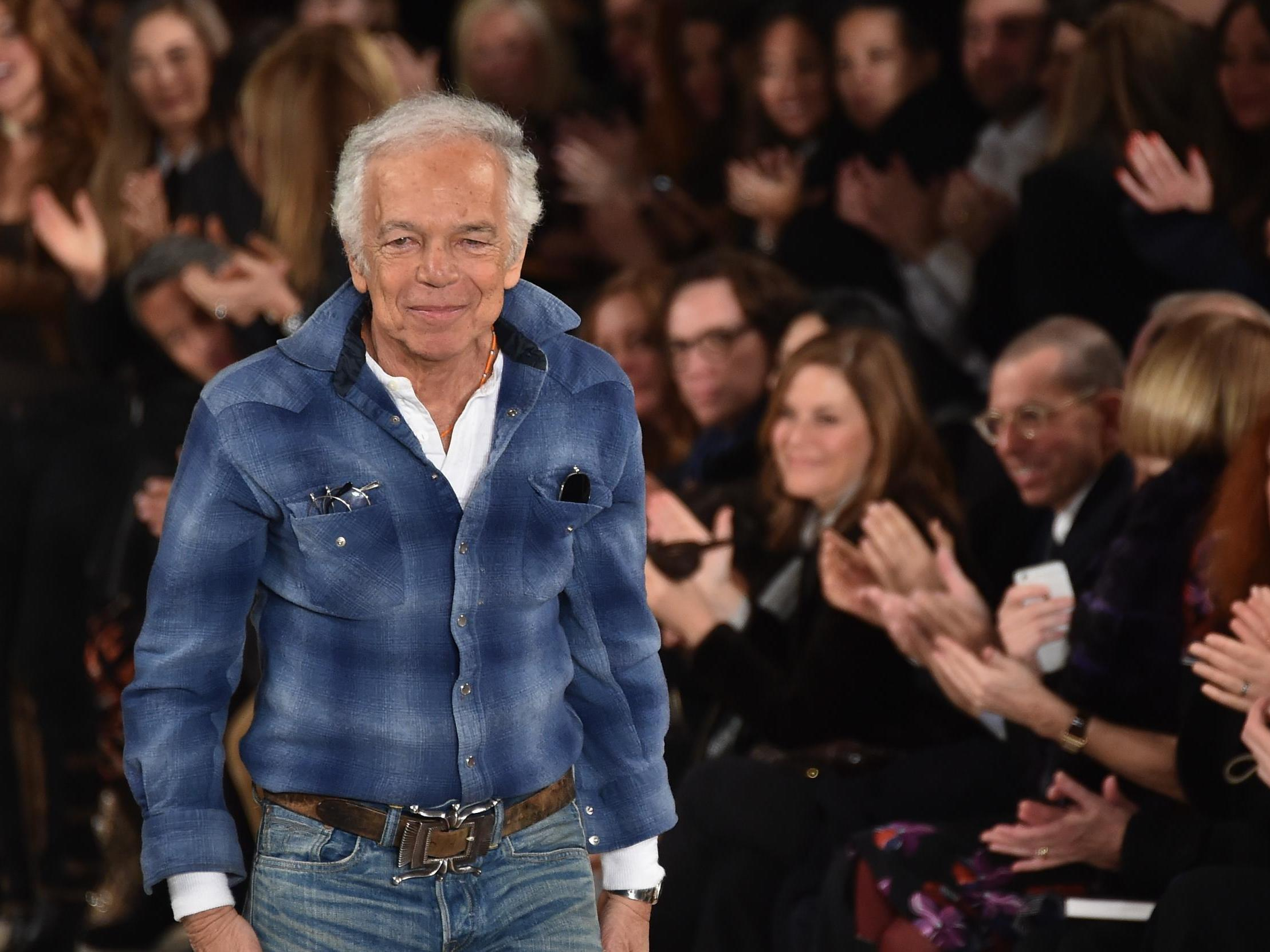 Ralph Lauren Says He Hates Fashion And Never Thought Of Himself As A Designer The Independent The Independent
