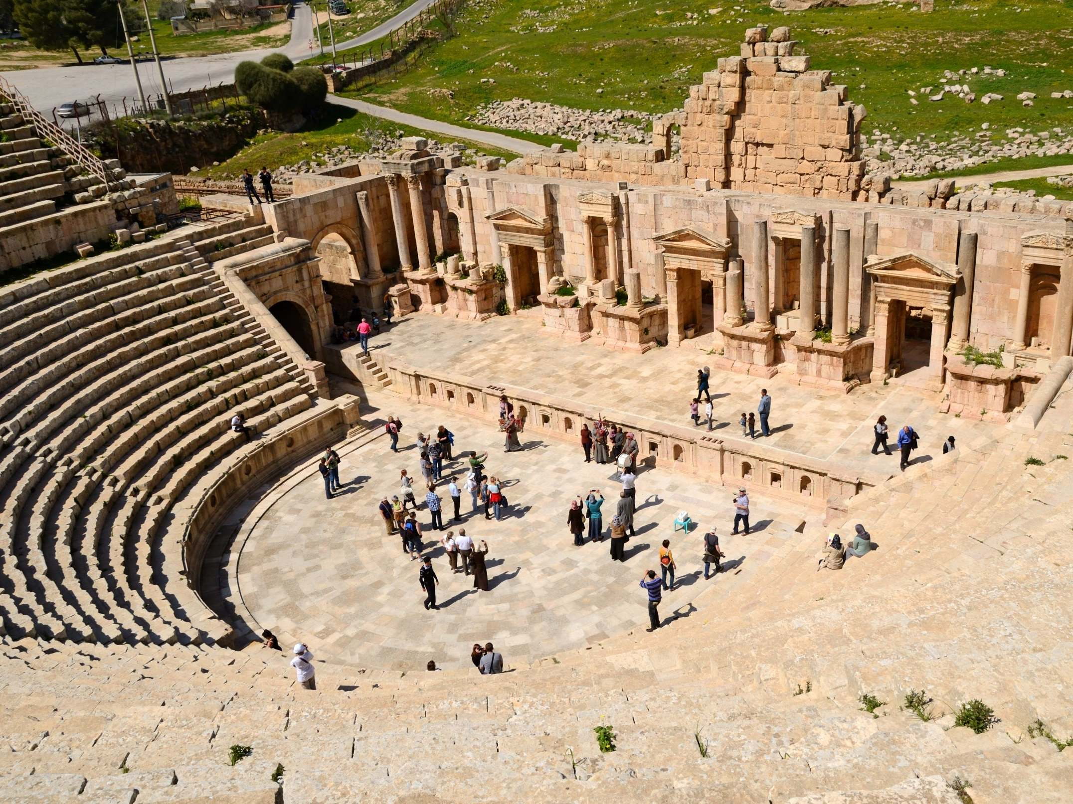 Jordan stabbing: Tourists and local guide attacked with knife in Jerash