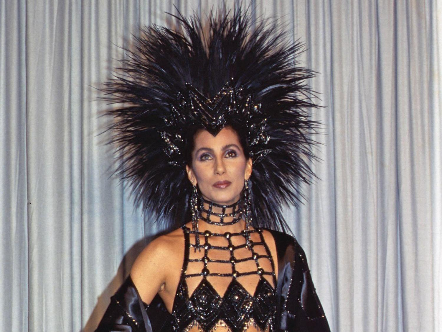 Cher says she wore 1986 Oscars gown to hit back at the Academy for not taking her seriously