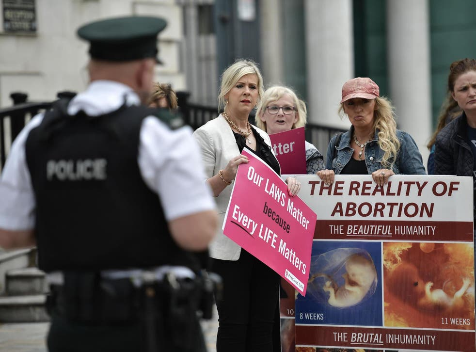 Women attending the clinics, as well as staff inside them, are made to feel unsafe by protesters