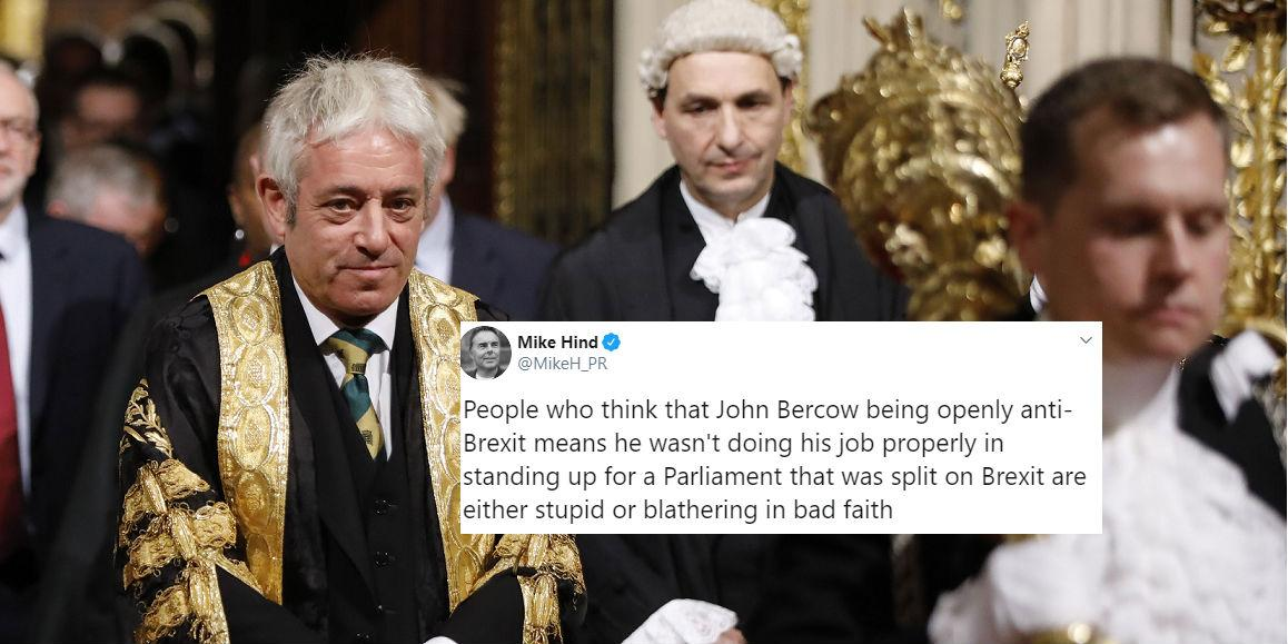 John Bercow confirms the 'worst kept secret in politics' and no one …