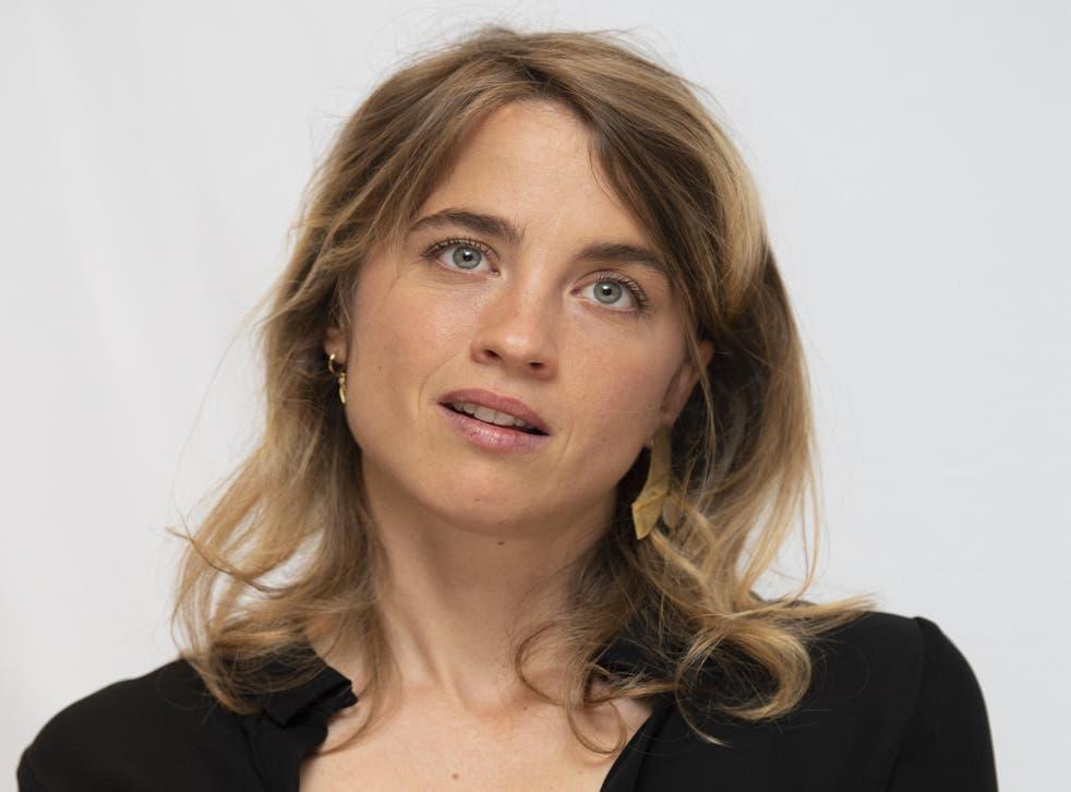 French actor Adele Haenel