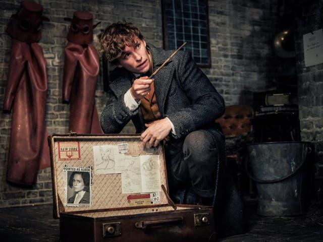 Eddie Redmayne in 'Fantastic Beasts: The Crimes of Grindelwald'