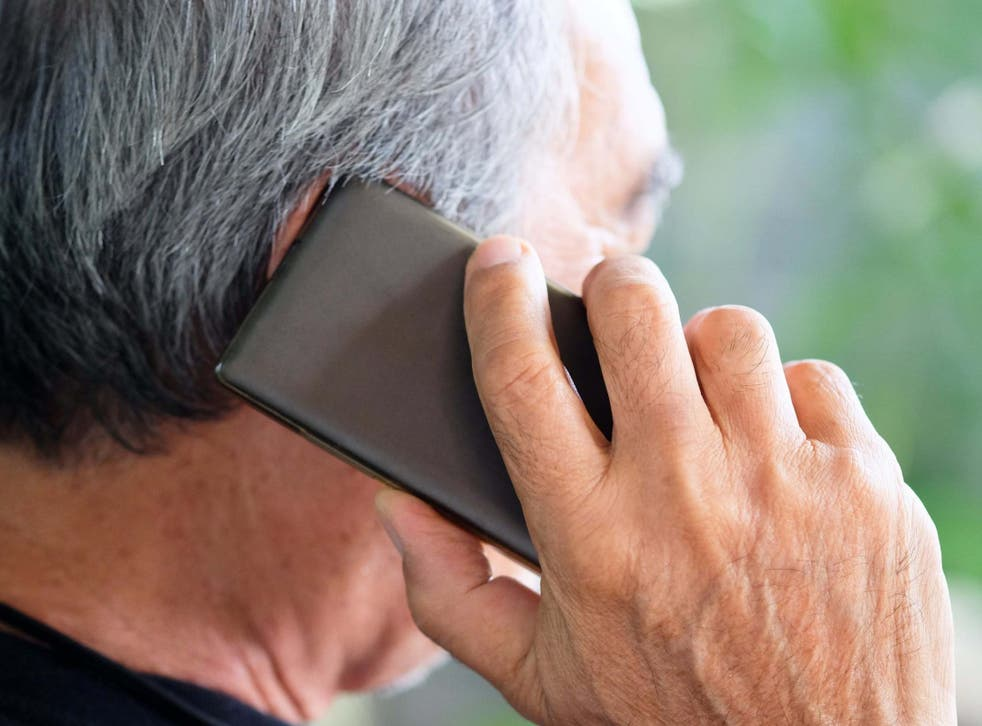 Scams often begin with an unsolicited call