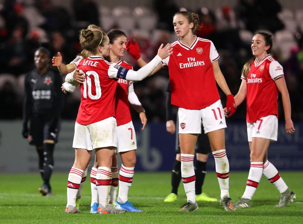Arsenal Women have been drawn against PSG in the last eight of the Women's Champions League